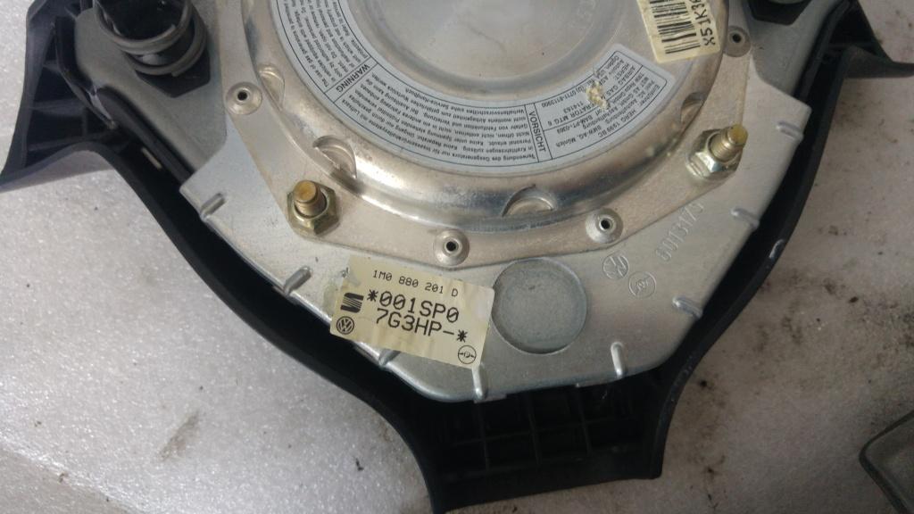 Set airbag volan cu airbag pasager cu capac seat toledo 3 leon 1m0880201d 1j0880204b