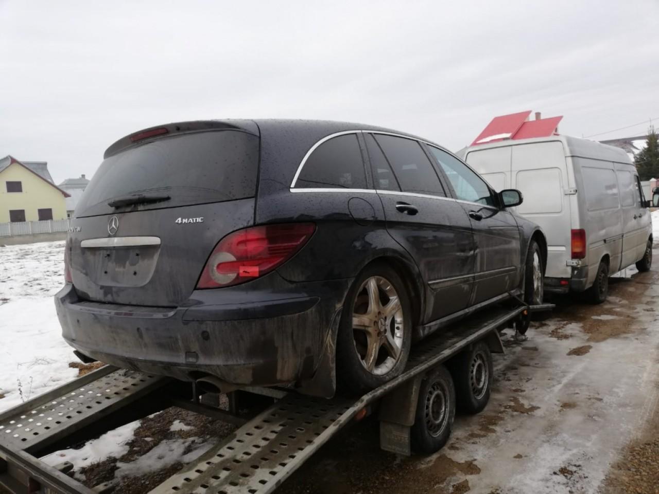 Set amortizoare fata Mercedes R-CLASS W251 2008 suv 3.0cdi om642 v6