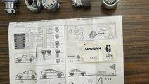 Set antifurt roti Nissan -Renault ,nou, original !