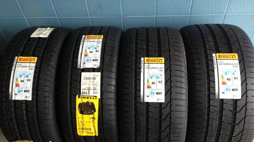 Set anvelope ptr x5-x6 275/40/20-315/35/20 pirelli runflat de vara noi