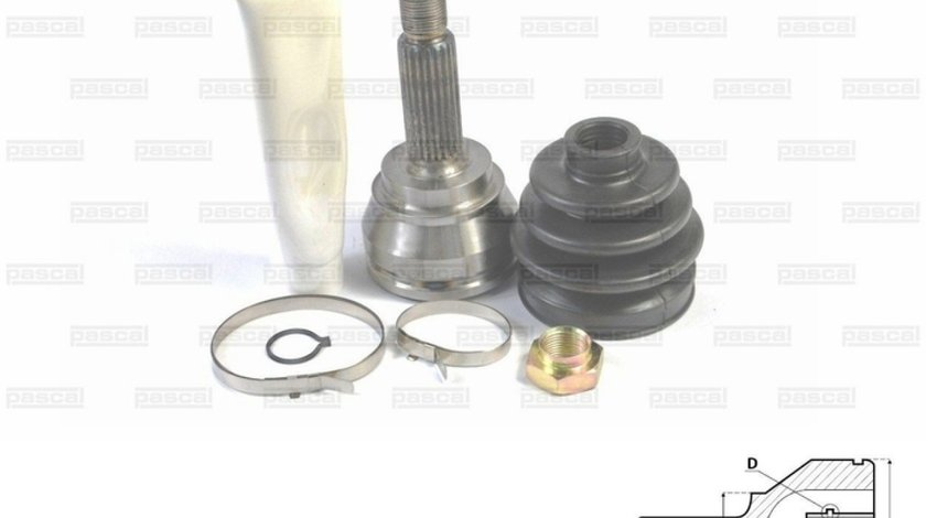 Set articulatie planetara FORD ORION II AFF Producator PASCAL G1G001PC