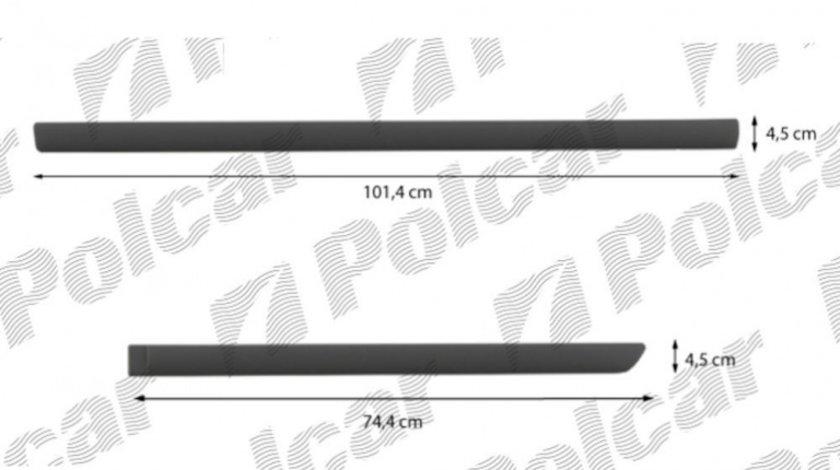 Set bandouri usi laterale Skoda Rapid 2012-, Seat Leon 2012- partea stanga Kft Auto
