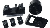 Set bloc lumini + butoane negru Volkswagen Touran ...