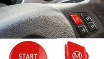 Set Capac Buton Start-Stop + Capac Buton Volan Bmw...