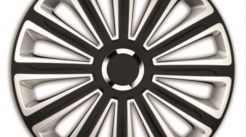 SET CAPACE ROTI 15` SILVER&BLACK CU INEL CROMAT TREND MEGA DRIVE 78641 <br>