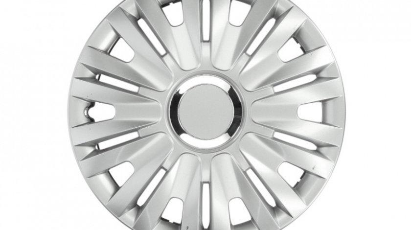 Set capace roti Delta Silver 13 inch JawoPlast 4buc