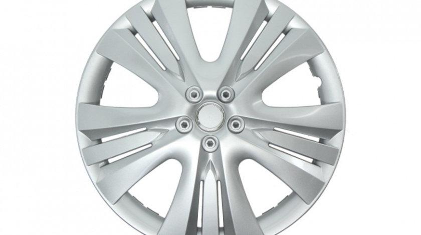 Set capace roti Lexis Silver 15 inch JawoPlast 4buc