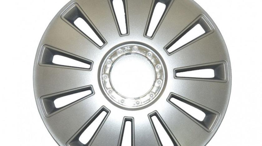 Set capace roti MegaDrive 15 inch Silverstone Chrome