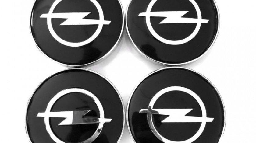 Set Capacele Jante Opel Negru 68MM
