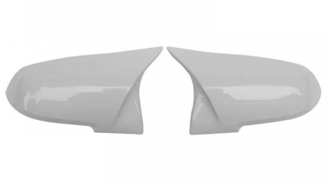Set Carcase Capace Oglinzi Bmw Seria 1 F20 2011-2019 M Look Alpine White 8029 Alb