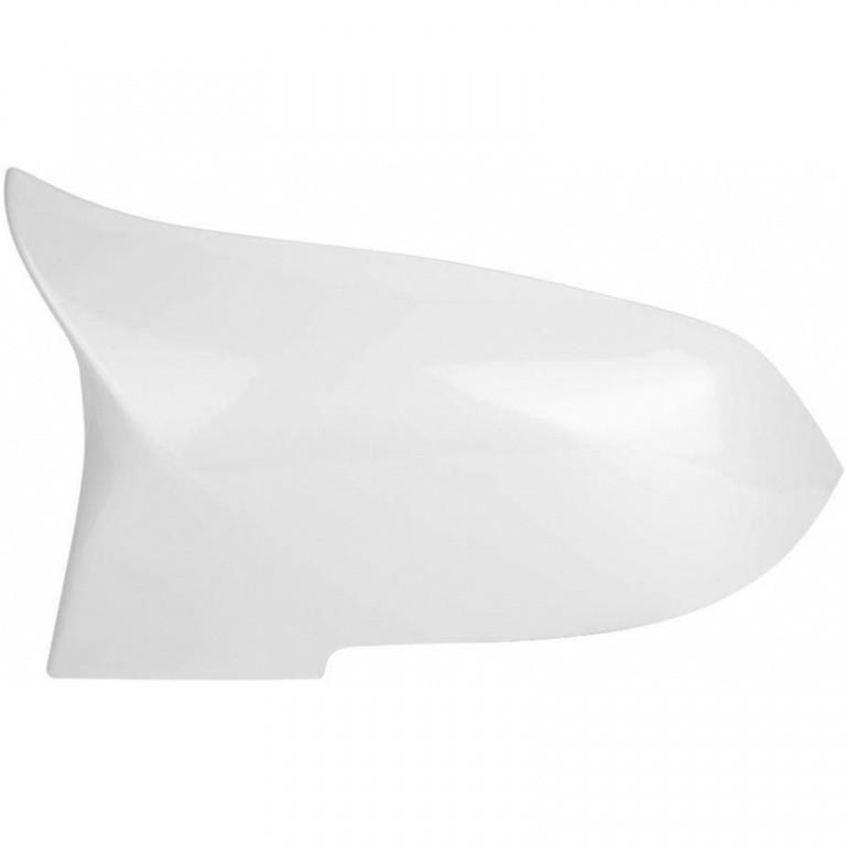 Set Carcase Capace Oglinzi Bmw Seria 4 F33, F83 2013→ M Look Alpine White 8029 Alb