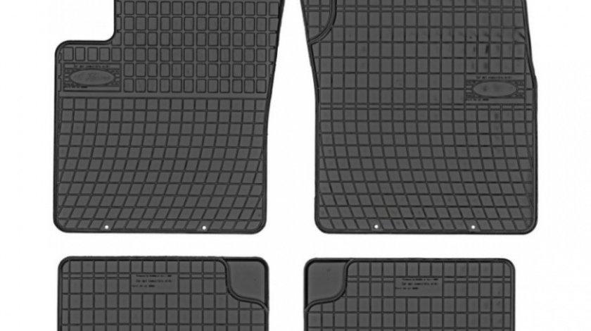 Set Covorase Auto Cauciuc Negro Fiat 500C 2007-Prezent Model: 0307