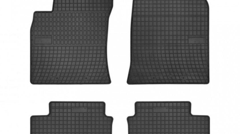 Set Covorase Auto Cauciuc Negro Hyundai i30 3 2017→ Cod: 547884