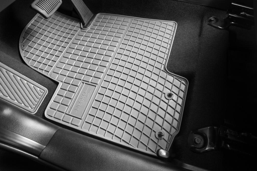 Set Covorase Auto Cauciuc Negro Iveco Daily 1999-2006 Gri Cod: GRD00992