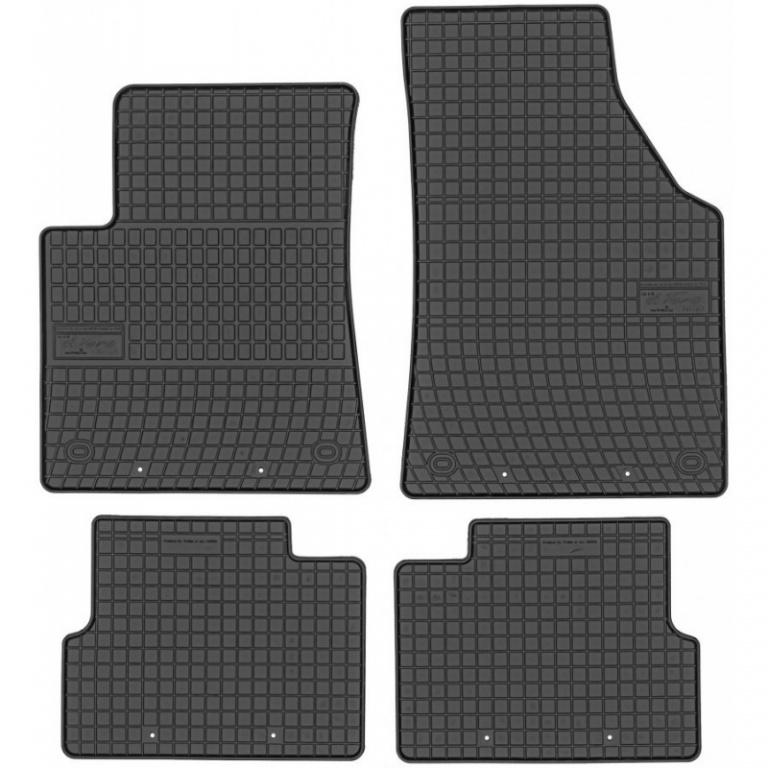 Set Covorase Auto Cauciuc Negro Jeep Cherokee KL 2014→ Cod: 547013