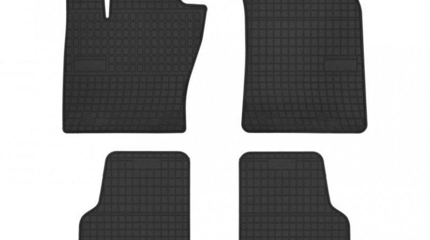 Set Covorase Auto Cauciuc Negro Jeep Compass 2017→ Cod: 401785