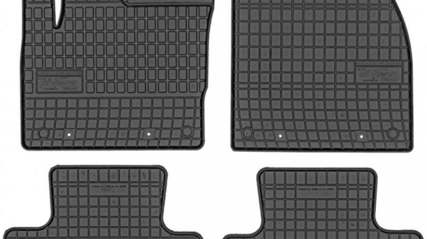 Set Covorase Auto Cauciuc Negro Land Rover Range Rover Evoque 2011→ 547334