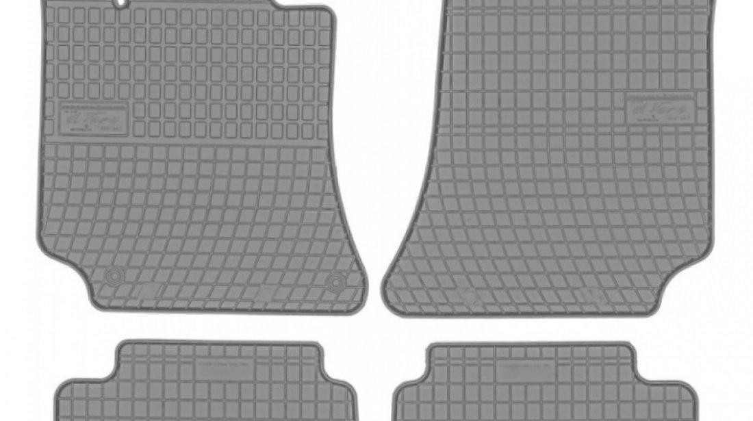 Set Covorase Auto Cauciuc Negro Mercedes-Benz CLS-Class C218 2011→ Gri Cod: GR0781