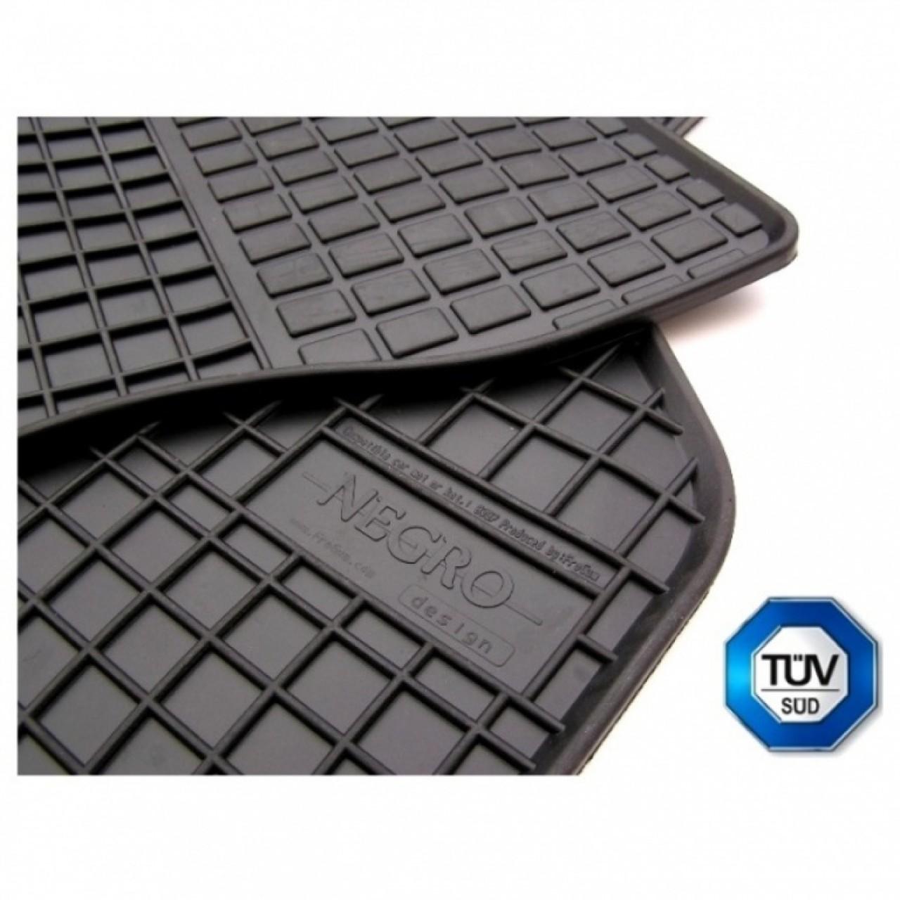 Set Covorase Auto Cauciuc Negro Seat Alhambra 1 1995-2010 7 Locuri Model: 0311 + 03117