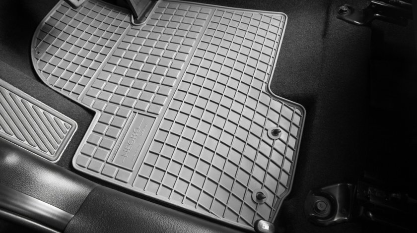 Set Covorase Auto Cauciuc Negro Vw Passat CC 2008-2015 Gri Cod: GR0392
