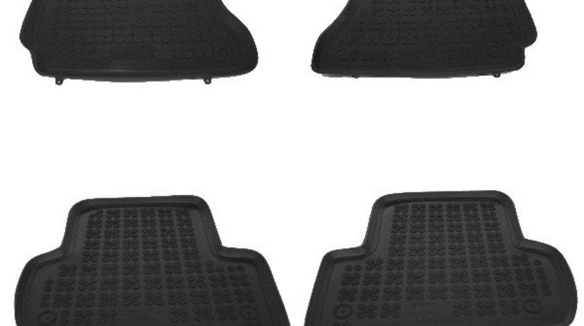 Set covorase auto din cauciuc pentru MERCEDES C-Class W204 2007-2014, Rezaw Plast, Negru, 4 Buc