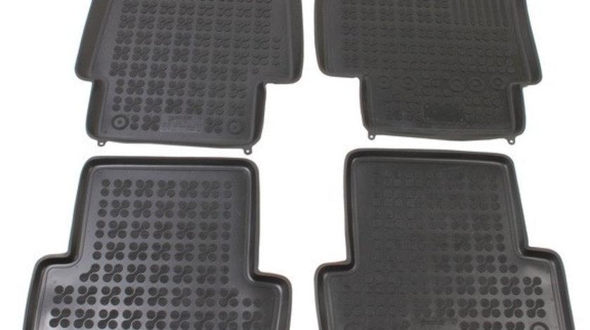 Set covorase auto Rezaw Plast din cauciuc pentru RENAULT CLIO dupa 2005 4 buc cod intern: COV-171
