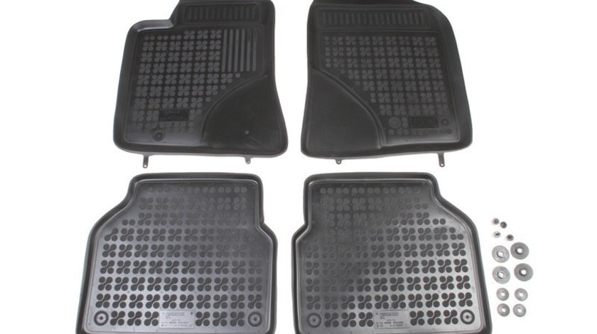 Set covorase auto Rezaw Plast din cauciuc pentru TOYOTA AVENSIS 2003-2009 4 buc cod intern: COV-182