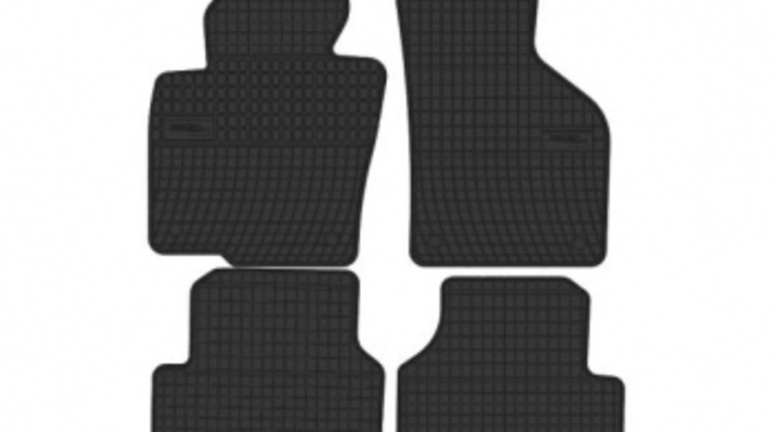 Set covorase cauciuc negru dedicate VW passat B6 si B7