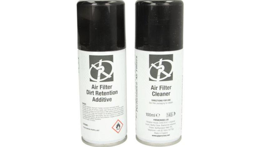 Set curatare filtru aer sport 75ml ulei/75ml lichida de curatare