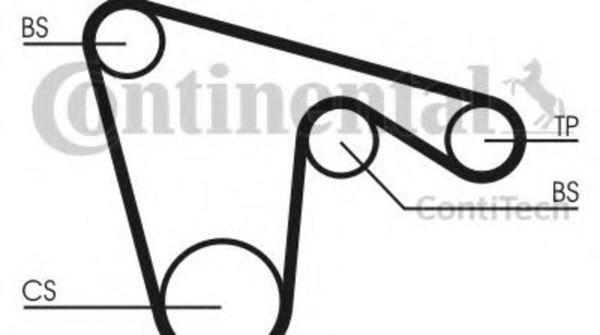 Set curea de distributie ALFA ROMEO GTV (916C_) (1994 - 2005) CONTITECH CT970K1 produs NOU