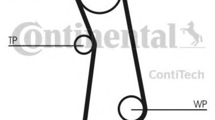 Set curea de distributie FORD KA (RU8) (2008 - 2016) CONTITECH CT1115K1 piesa NOUA