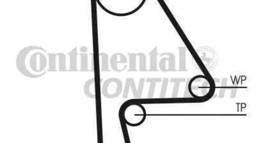 Set curea de distributie HONDA CIVIC VII Hatchback EU EP EV CONTITECH CT1082K1