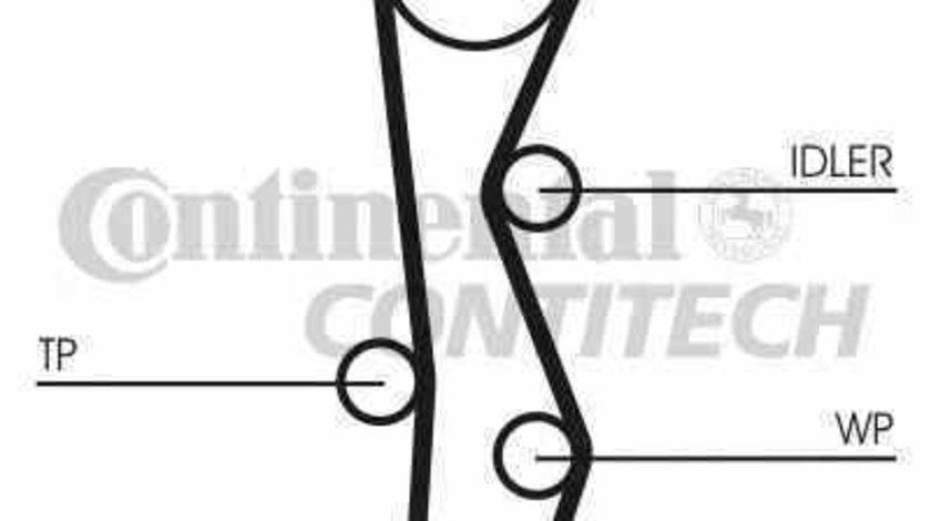 Set curea de distributie HYUNDAI i30 FD CONTITECH CT1099K2