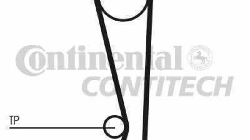 Set curea de distributie MAZDA 323 F VI BJ CONTITECH CT1024K1