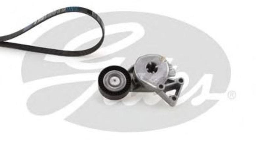 Set curea transmisie cu caneluri VW SHARAN (7M8, 7M9, 7M6) (1995 - 2010) GATES K046DPK1195 piesa NOUA