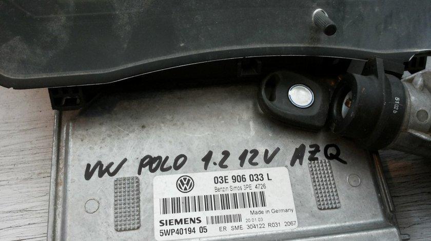 set de pornire siemens 03E906033L pentru Volkswagen Polo 9N 1.2 12v tip AZQ