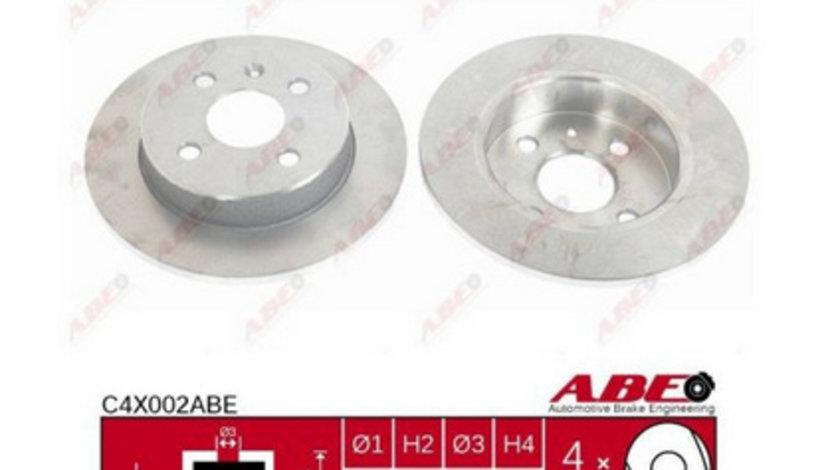 Set Discuri Opel Astra G / Astra H C4X002ABE ( LICHIDARE DE STOC)