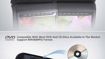 SET DVD PLAYER AUTO DE TETIERA CARTEK CK-DV9917 NE...