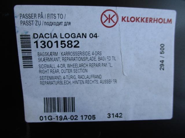 SET ELEMENT REPARATIE ARIPA STANGA / DREAPTA DACIA LOGAN FAB. 2004 - ⭐⭐⭐⭐⭐