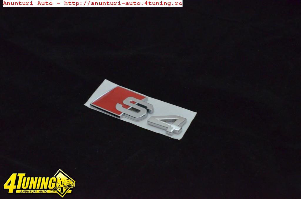 Set Embleme Audi S4