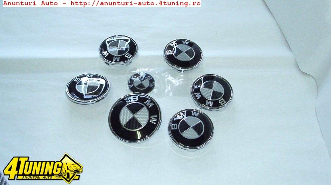 Set embleme BMW carbon Capota Portbagaj Volan Jante
