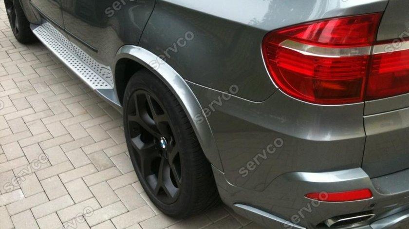Set evazari extensii aripa bosaje BMW X5 E70 Aero LCi pachet M tech 2006-2013 v1