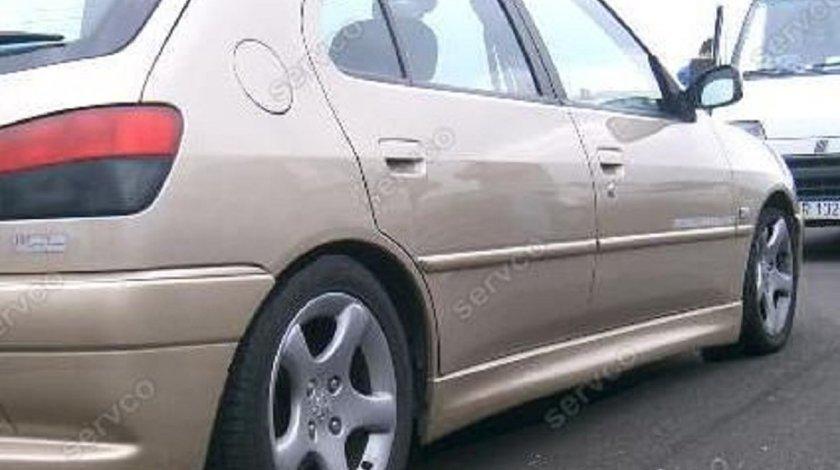 Set extensii laterale praguri sport tuning Peugeot 306 Gti Rally D Turbo vti 1992-2002 ver1