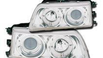 Set Faruri Angel Eyes Honda Crx/Civic, Fundal Crom...