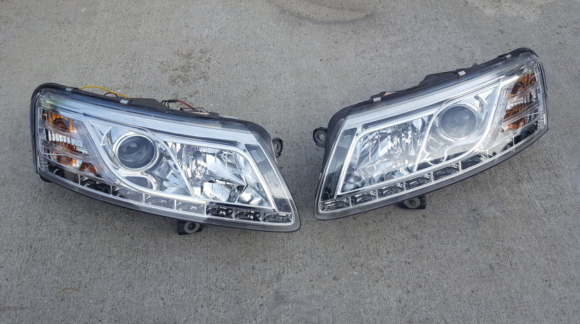 Set faruri audi a6 4f xenon led