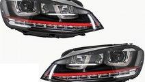 Set Faruri Dreapta + Stanga Am Volkswagen Golf 7 2...