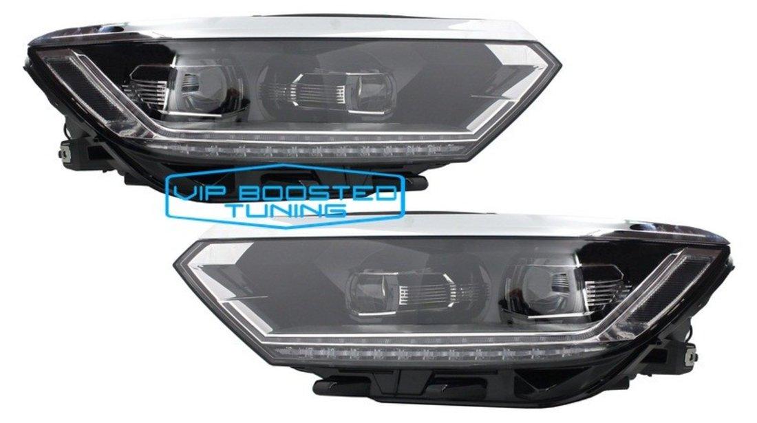 Set Faruri Full LED VW Passat B8 3G OEM design (2014-2019) Matrix Look