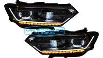Set Faruri Full LED VW Passat B8 3G semnalizare di...