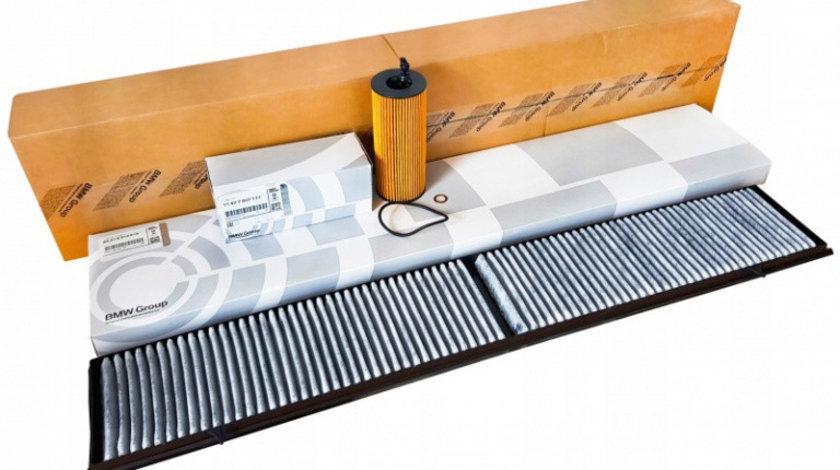 Set Filtre Revizie Polen + Ulei Oe Bmw Seria 1 E88 2007-2013 1.6-2.5d N47 88002288318