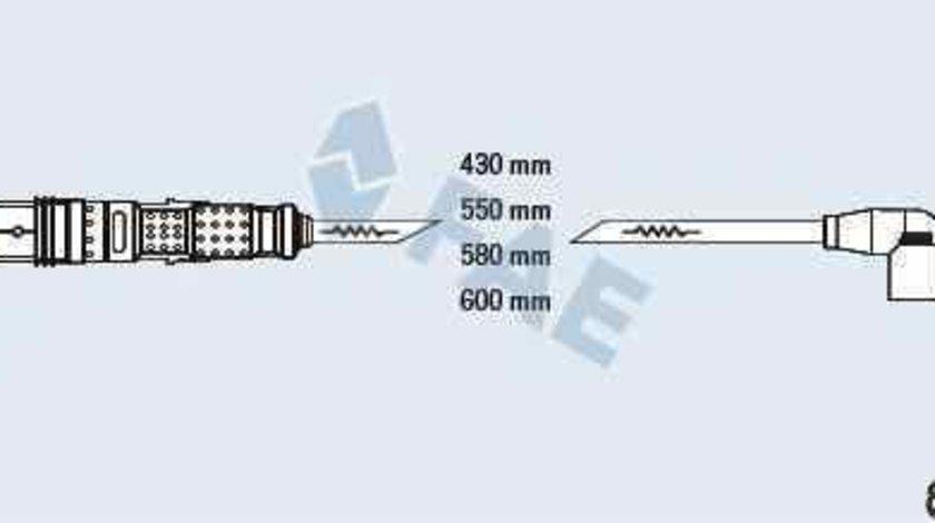 Set fise bujii AUDI A1 8X1 8XF BERU ZEF16290300891629
